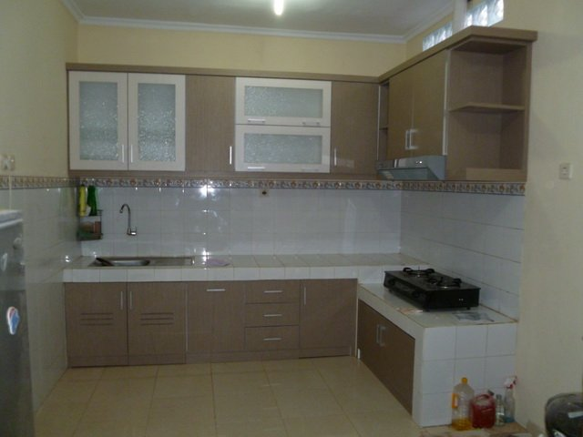 Meja Dapur Cor Dan Kitchen Set