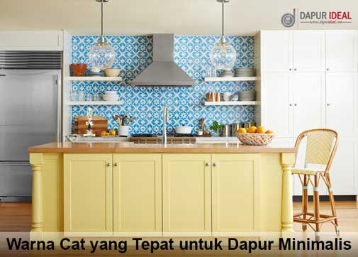 Tips warna interior dapur mungil